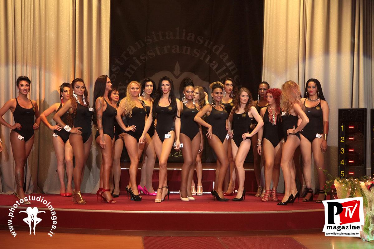 Tutte le partecipanti del miss trasn italia