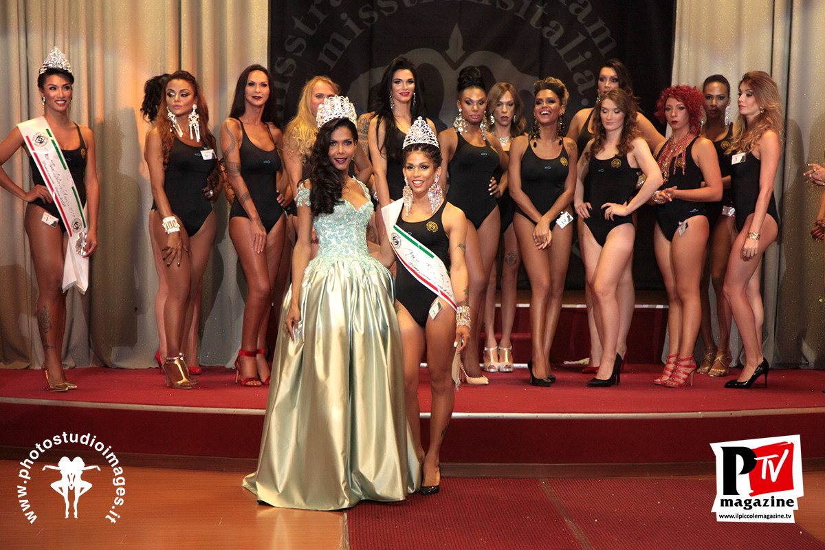 Fabiola Fontana con le miss